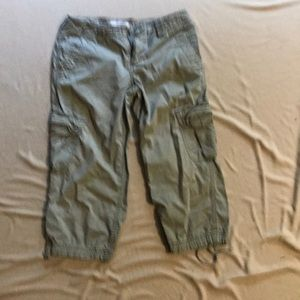 Cargo Capri pants by Express